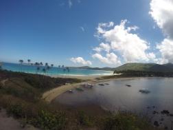 Twin Beaches, vista desde el viewpoint