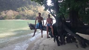 Casi toda la playa para nosotros
