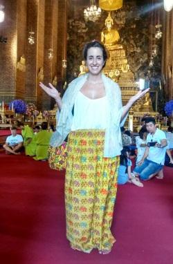 Vestimenta estilo templos