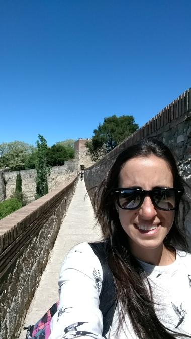 En medio de la muralla