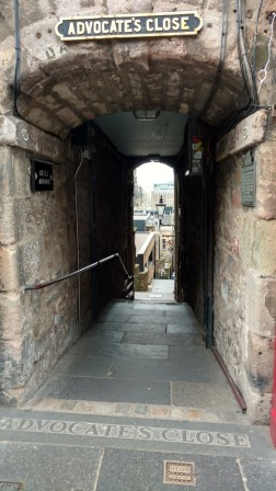 Un Close de la Royal Mile