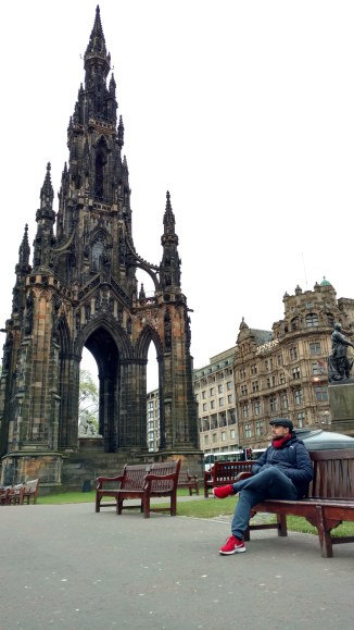 Scott Monument en Princes Gardens