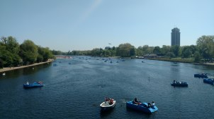 Hyde Park lago