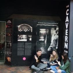 La entrada original de The Cavern Club