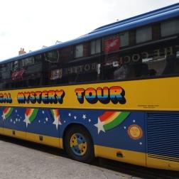 El bus del Magical Tour