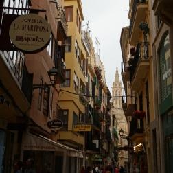 Las callecitas angostas de Palma