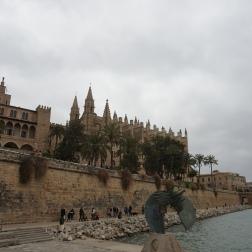 Catedral Santa Maria, más conocida como La Catedral del Mar por su ubicación estratégica