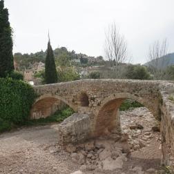 El puente romano de Pollensa